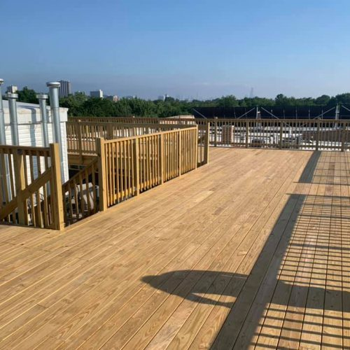 deck made by deck builders in chicago il
