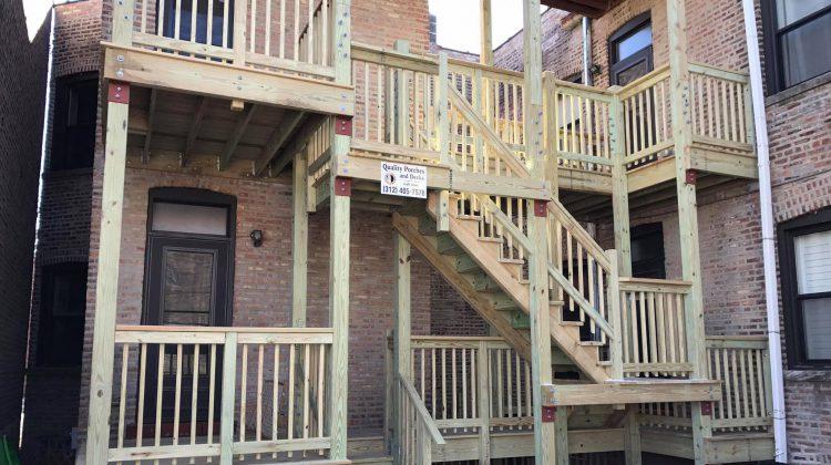 new porch construction chicago